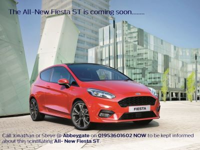 ALL-NEW FORD FIESTA ST coming soon