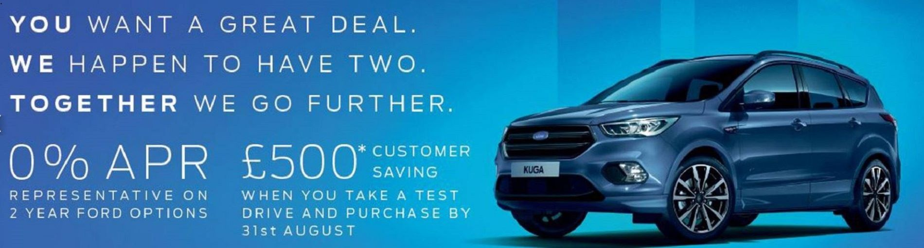 AUGUST TEST DRIVE OFFER