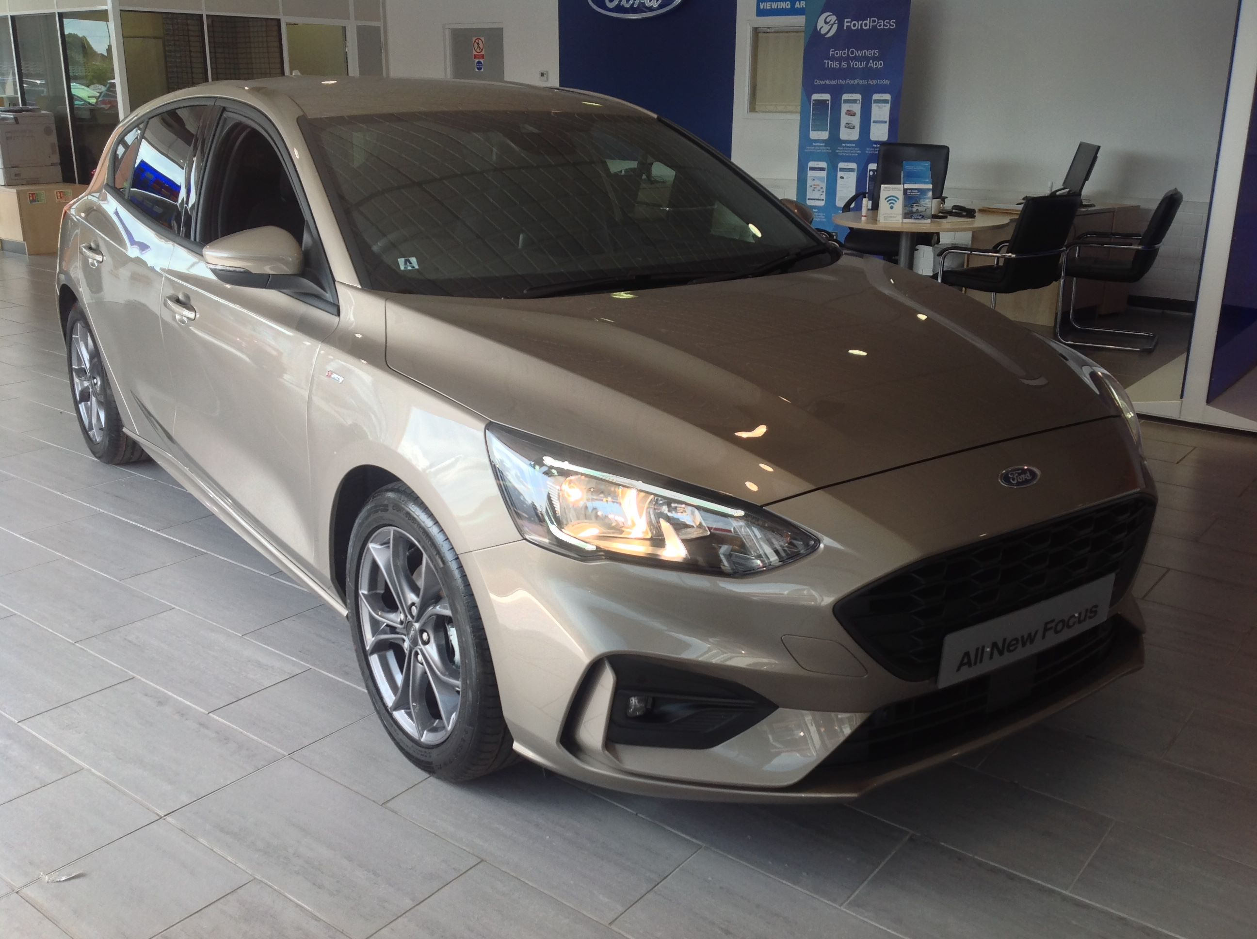 The All-New Ford Focus has landed at Abbeygate