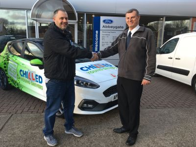 Chilled Driving Tuition Ltd take delivery of a New Ford Fiesta ST-3 for their fleet