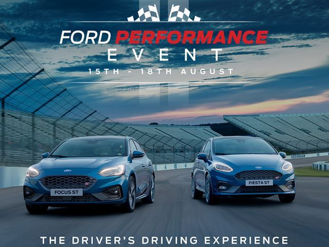 Ford Performance Event 15th-18th August