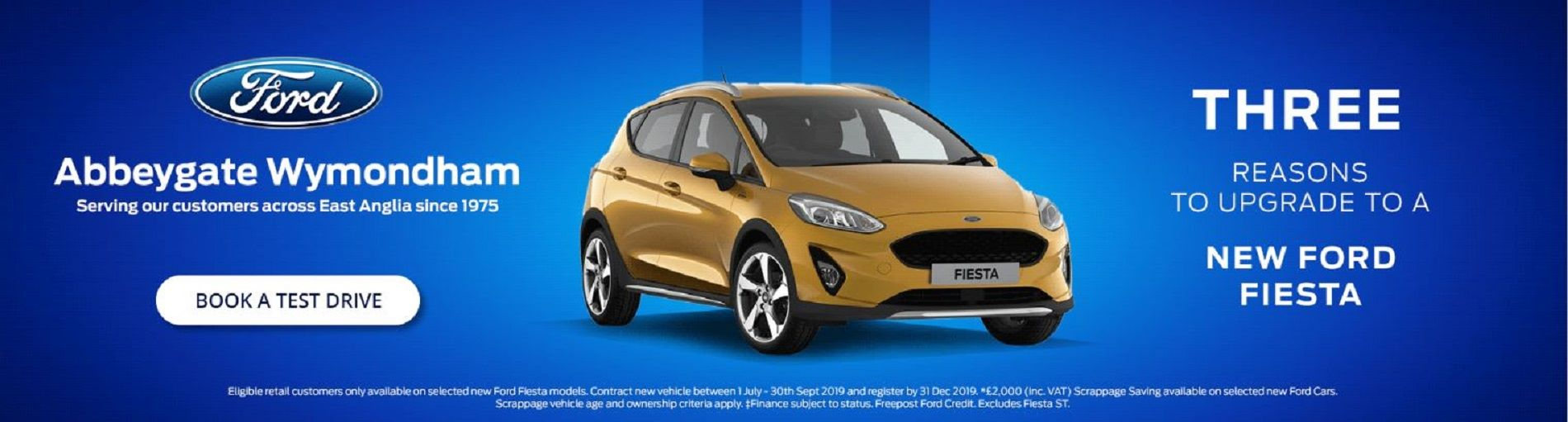 Three Reasons to Upgrade to a New Fiesta