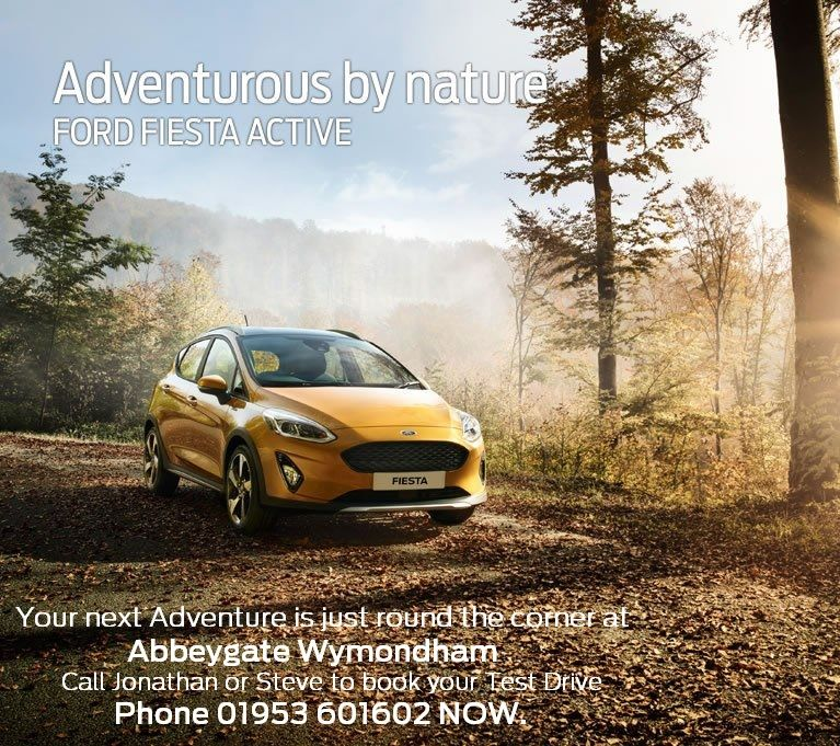 All-New FORD FIESTA ACTIVE in our Showroom Now