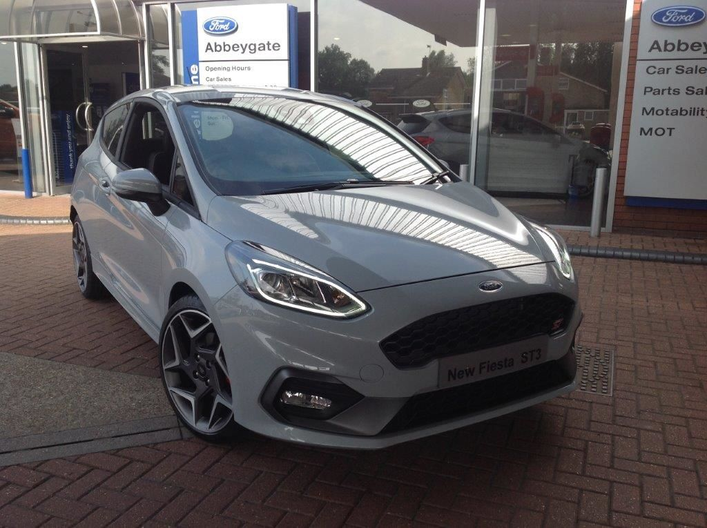 The All-New Ford Fiesta ST has arrived at Abbeygate Wymondham - ST3 in Silver Fox
