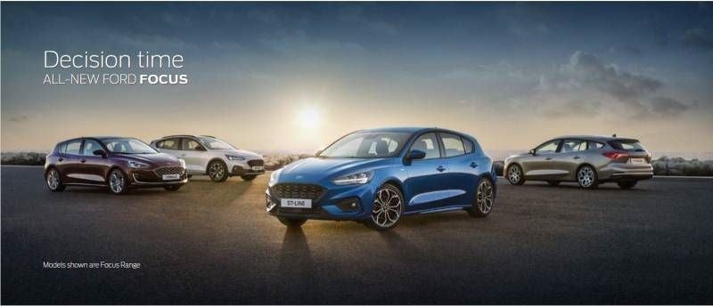 All-New Ford Focus Launch Event 7-10 September 2018