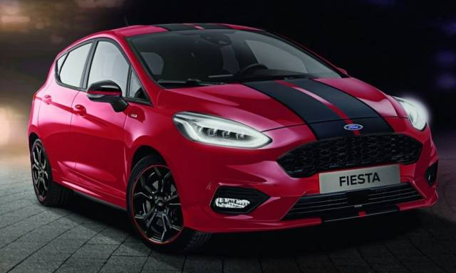 New Ford Fiesta ST-Line Red & Black Editions