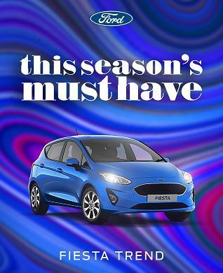 New Ford Fiesta Trend - this season's must have