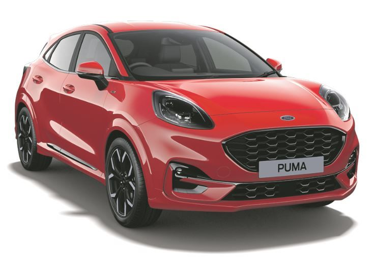 New Ford Puma ST-Line in Race Red