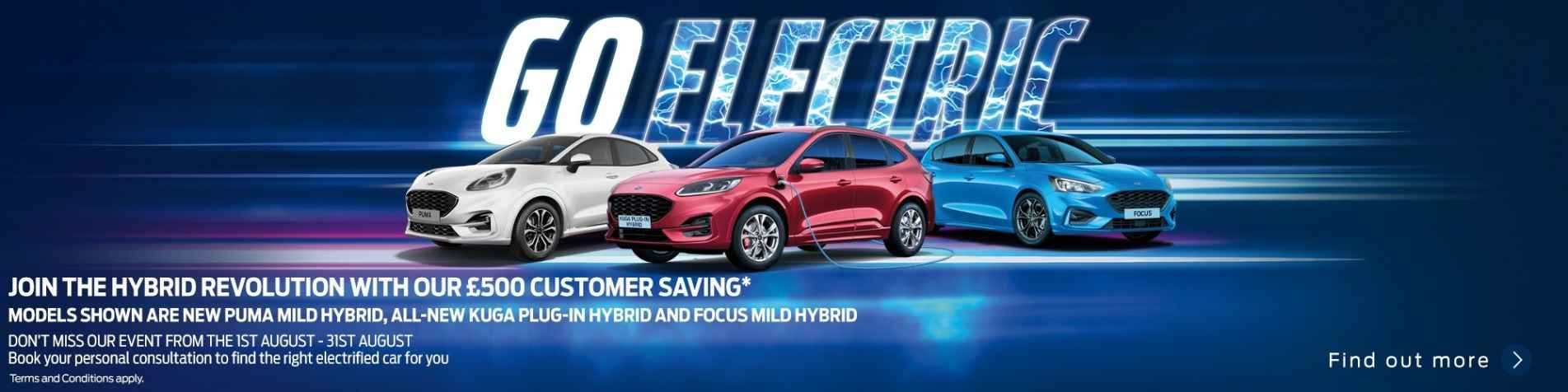 Go Electric Event - 1st to 31st August 2020