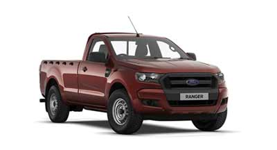 Ford Ranger - Available In Copper Red