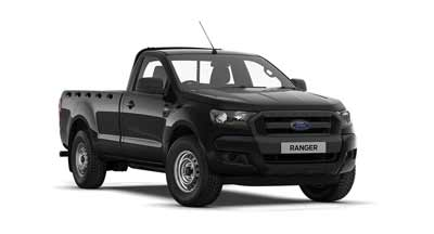 Ford Ranger - Available In Shadow Black