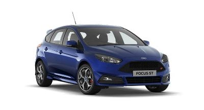 Ford Focus St - Available In Impact Blue